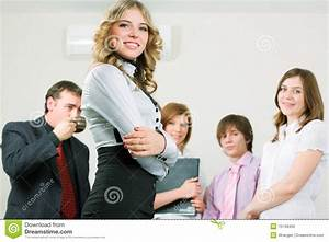 Young Business Team. Stock Photo - Image: 15149400
