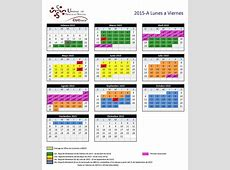 Calendario Centro Universitario de la Costa