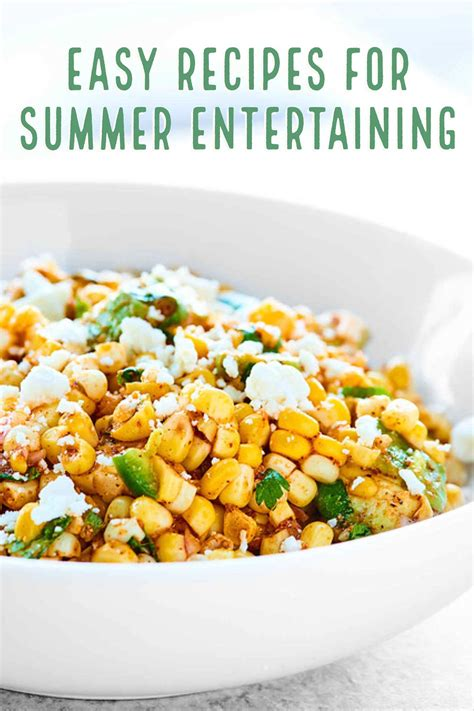 Easy Recipes For Summer Entertaining  Show Me The Yummy