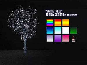 my sims 4 blog fairy light trees in 20 new colors by With sims 3 outdoor string lights