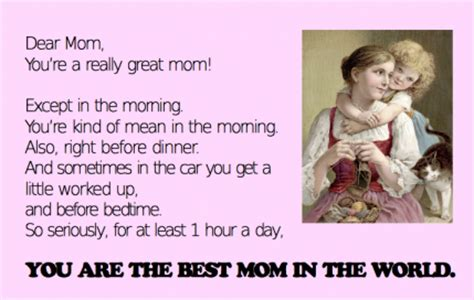 honest mothers day cards parenting