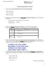 Therefore, the number of heterozygous individuals 3. Hardy-Weinberg equilibrium worksheet answer key.pdf - UBC ...
