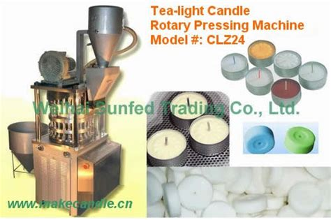 automatic tea light candles tealight candle pressing machine make candle candle