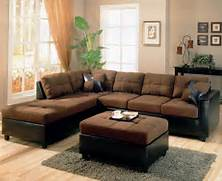 Living Room Color Ideas For Dark Brown Furniture by Two Tone Modern Sectional Sofa 500655 Chocolate Dark Brown