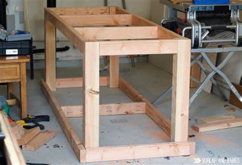 how to build a work bench how to build a rolling workbench follow this simple diy