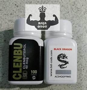 Clenbu Bd 40 Mcg X 100 Tabs Black Dragon - Clenbuterol - Clen -