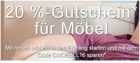 Möbel Gutschein by M 246 Bel Gutschein Feb 2016 20 Bei Ebay 500 Otto