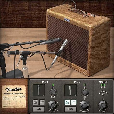 fender  tweed deluxe uad audio plugins universal audio