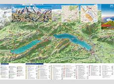 Large Interlaken Maps for Free Download and Print High