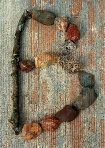 Nature Alphabet Letter B