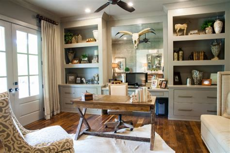 + Farmhouse Home Office Designs, Decorating Ideas