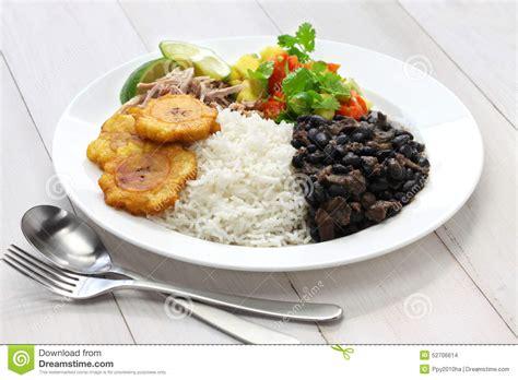 cuisine cubaine photo stock image 52706614