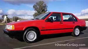 Volvo 940 Turbo Sedan Se Classic Car 960 760 740 Test