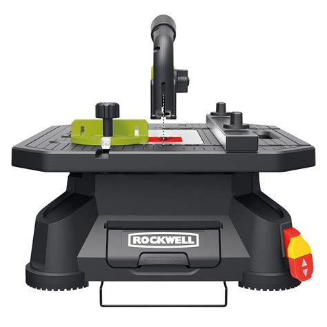 lowes portable table saw shop rockwell blade runner x2 5 5 amp 4 in table saw at