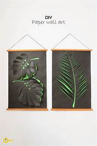 Diy paper wall art ohoh