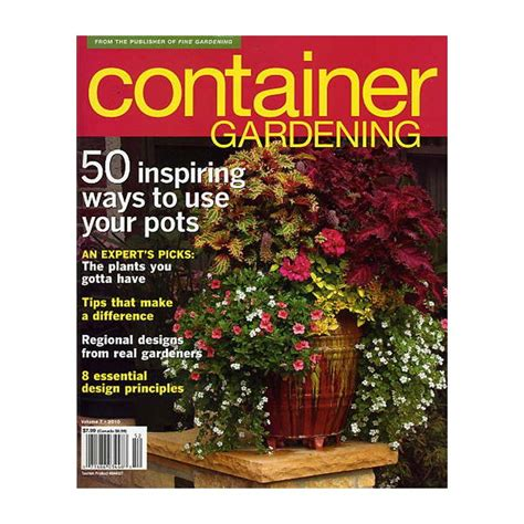 Fine Gardening Container Magazine56533  The Home Depot