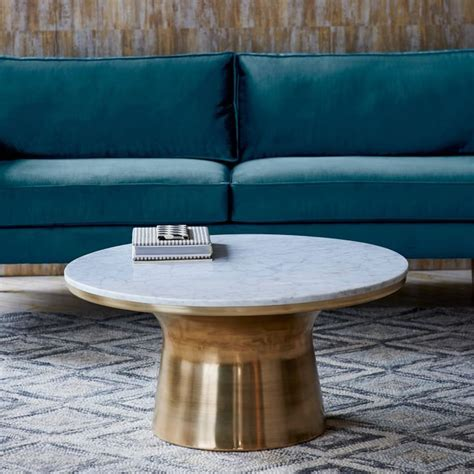 table ls with outlets in base stone coffee tables with modern style