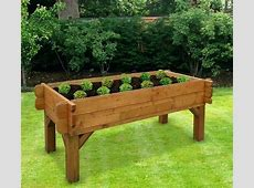 Elevated Raised Garden Beds Coral Coast Wood Elevated
