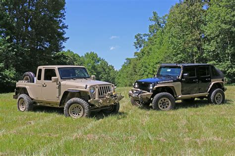 the jeep wrangler commando is ready for war and peace jk forum