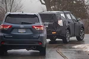 2020 Toyota Highlander Spyshots Reveal More Of The Rav4