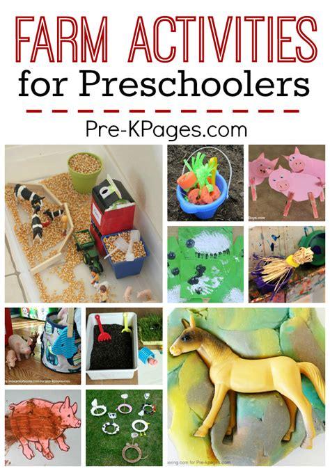farm activities for preschoolers pre k pages 604 | farm activities for preschool