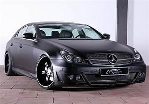 Mercedes Cl 500 : mec design mercedes cls 500 w219 is evil black autoevolution ~ Nature-et-papiers.com Idées de Décoration