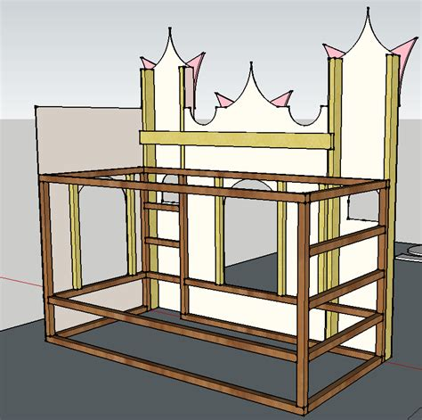 Ikea Prinzessin Bett by A Bed That Looks Like A Castle Dormitorio Ariel Castle