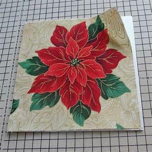 Stoff Auf Stoff Nähen : gru karten aus stoff basteln rose decoration das ~ Lizthompson.info Haus und Dekorationen