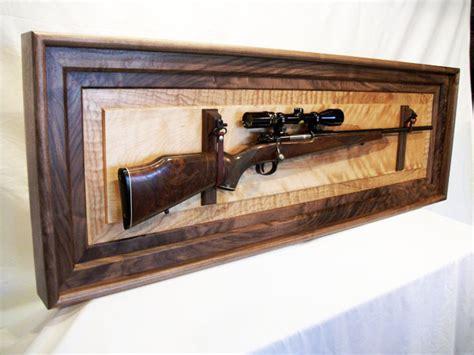 rifle display rack rifle display by woodshopjoe lumberjocks