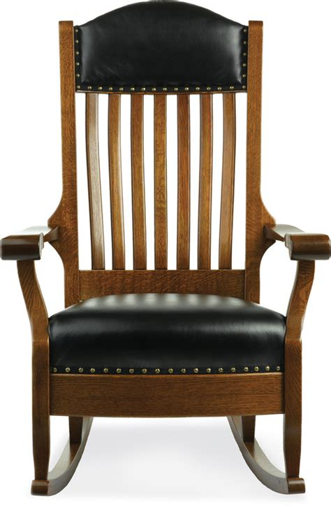 amish furniture crafted solid wood rocking chairs