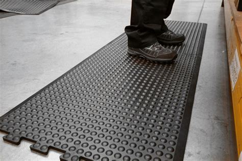 bubblemat rubber anti fatigue mats workplace stuff