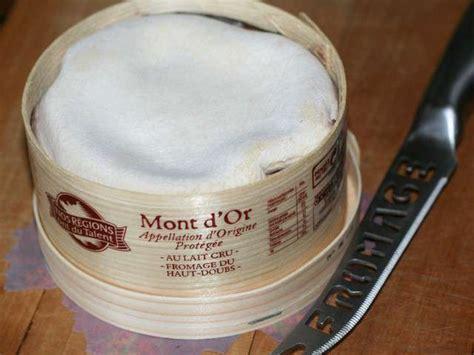 recettes de mont d or et fromage