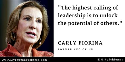 bootstrap business  famous carly fiorina business quotes