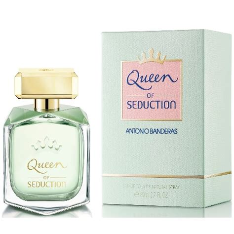 antonio banderas queen of seduction deodorant antonio banderas queen of seduction edt 80ml for women