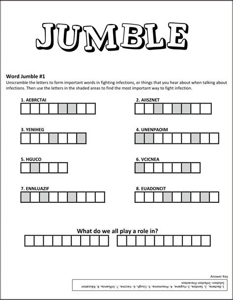 840 x 1084 jpeg 102 кб. 7 Best Images of Printable Jumble Word Puzzles Coping - Word Jumble Puzzles to Print, Printable ...