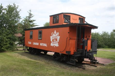 Caboose L by Panoramio Photo Of Canadian National Railway Caboose