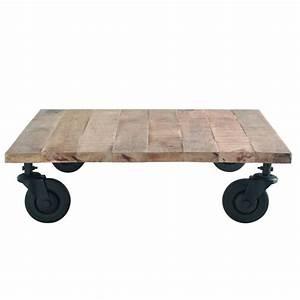 Table Basse Loft : table basse loft maisons du monde ~ Teatrodelosmanantiales.com Idées de Décoration
