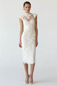 short lace wedding dresses with cap sleeves styles of With lace short wedding dress