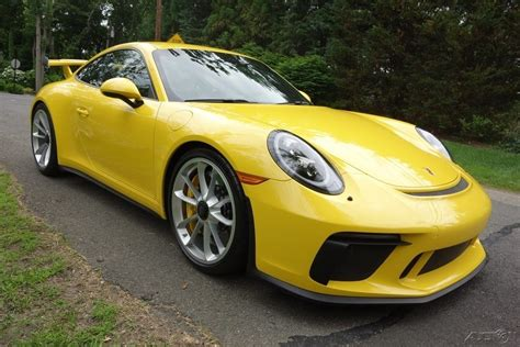 For Sale Porsche 911 Gt3 Yellow