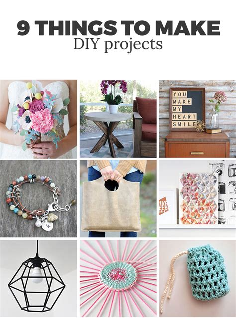 things to make for 9 things to make andrea s notebook Diy