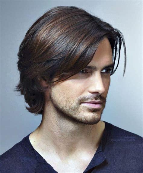 frisuren fuer maenner mit langen haaren herren frisur