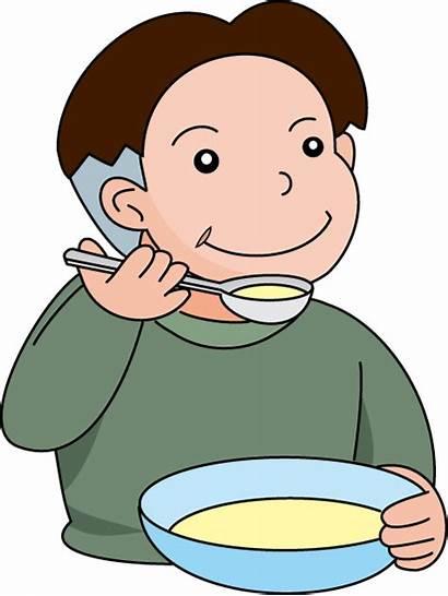 Soup Clipart Supper Cartoon Clip Cliparts Eat