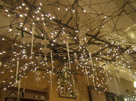 twig chandelier ideas  pinterest branch