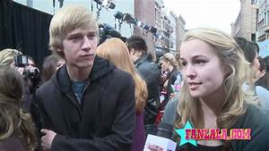Jason Dolley & Bridgit Mendler On First Kisses! - YouTube