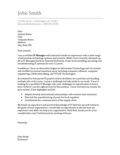 Resume Cover Letter Template by Cover Letter Template Science Cover