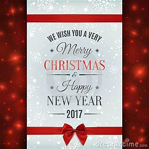 Merry Christmas And Happy New Year 2017 Cards – Happy ...
