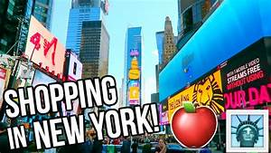SHOPPING IN NEW YORK + HAUL! - YouTube