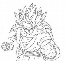 HD Wallpapers Dragon Ball Z Coloring Page
