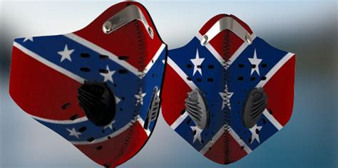 Confederate flag filter face mask - LIMITED EDITION ...