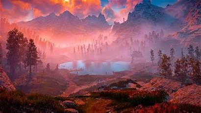 Horizon Dawn Zero Nature Wallpapers Resolution 1080p